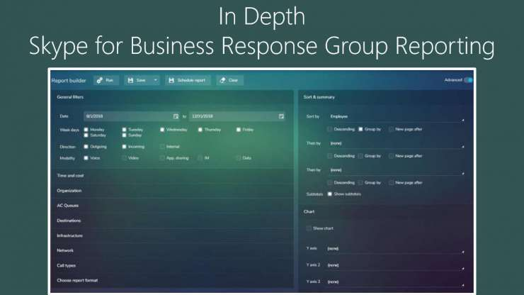 In Depth Skype for Business Response Group Reporting