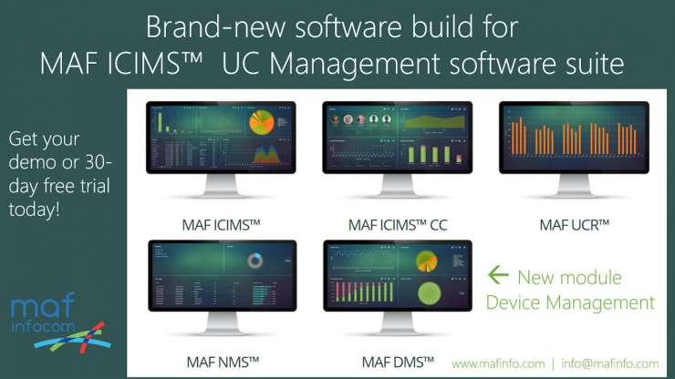 New build MAF ICIMS V4
