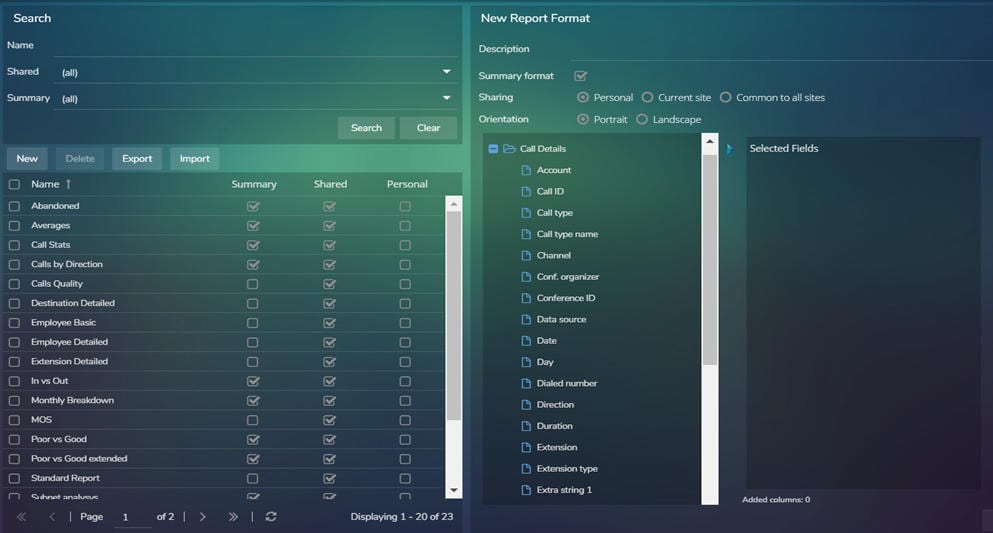 Microsoft Teams Report Designer